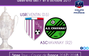 Coupe de France : Le derby US Reventin - AS Chavanay au 5ème tour !