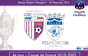 Coupe de France : L'US Reventin recevera Limonest St Didier (National 3) au 4e tour !